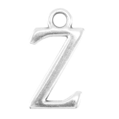 Letter Z - Antiek Zilver (nikkelvrij)