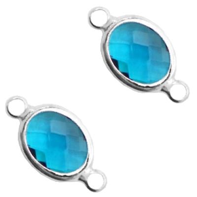 Indicolite Blue - crystal-silver