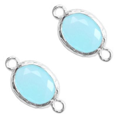 Blue Opal - silver