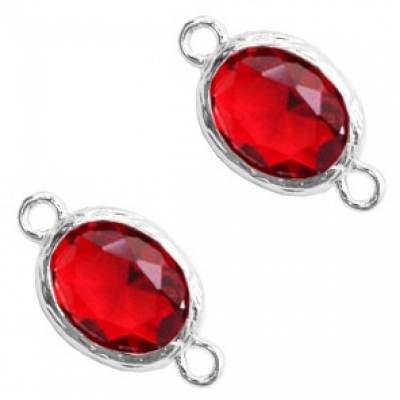 Siam Red - crystal-silver