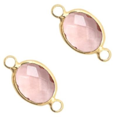 Vintage Pink - crystal-gold