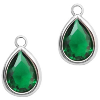 Classic Green - crystal-silver