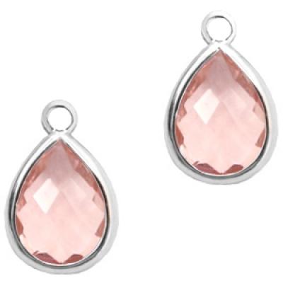 Vintage Pink - crystal-silver