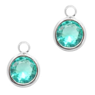 Emerald Blue - crystal-silver