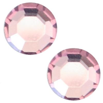 Flat back - SS30 - 6.4 mm - Amethyst Purple