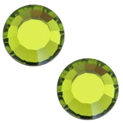 Flat back - SS20 - 4.7 mm - Olivine Green