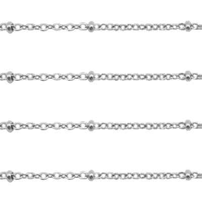 Jasseron 1.4 mm -zilver - per 25 cm