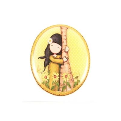 Cabochon - Sticker 18 x 25 mm - ovaal