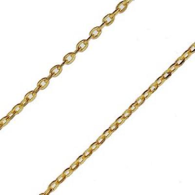 Metalen ketting goudkleurig