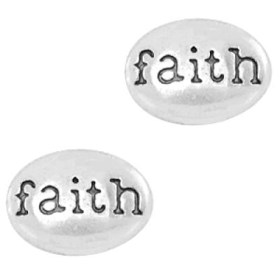 Faith - 10 x 7 mm