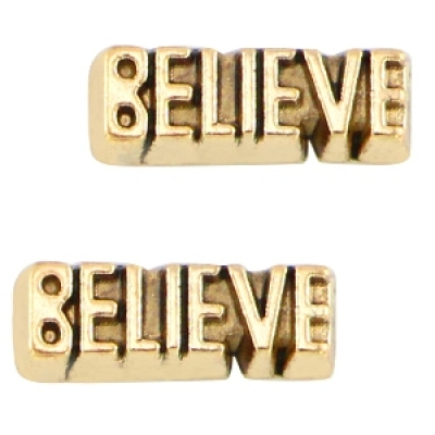 Believe - 11 x 4 mm
