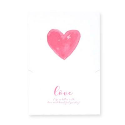 Sieradenkaartje - Love