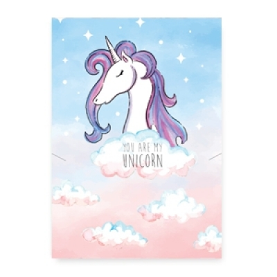 Sieradenkaartje - You are my unicorn