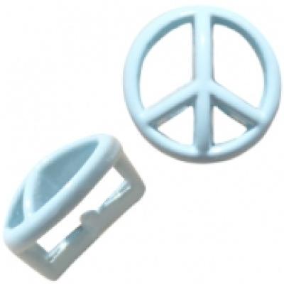 Peace - Pastel Blue